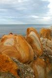 2岩石防波堤 库存图片