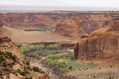 2峡谷 图库摄影