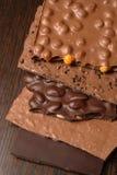 2巧克力平板 免版税库存图片