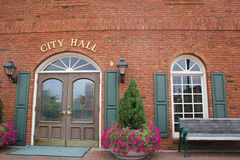 2市政厅 免版税库存图片