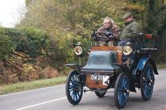 2布赖顿汽车伦敦运行到退伍军人 免版税库存照片