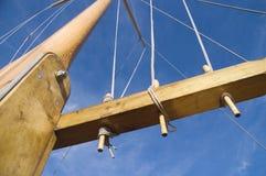 2帆柱索具 免版税图库摄影