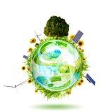 2干净的概念环境 免版税库存照片