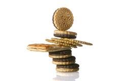 2平衡的快餐 免版税库存图片