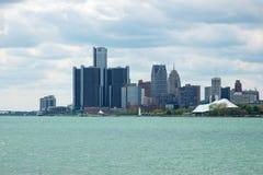 2底特律地平线 免版税图库摄影