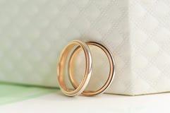 2底部配件箱环形婚礼 图库摄影