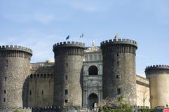 2座城堡那不勒斯nuovo 库存图片