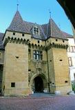 2座城堡门 库存照片