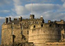 2座城堡edinburg 库存照片