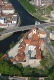 2座城堡strakonice 免版税库存图片