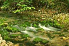 2座山河 免版税图库摄影
