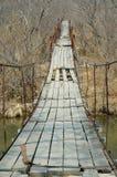 2座桥梁停止老 库存照片
