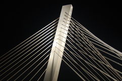 2座桥梁千年 免版税图库摄影