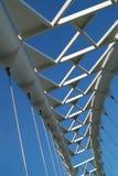 2座桥梁天空 免版税图库摄影