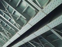 2座桥梁钢 库存照片