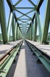 2座桥梁铁路 库存图片