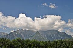 2座bucegi山 库存照片
