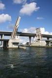 2开放的吊桥 库存照片