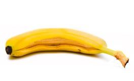 2开放的香蕉 库存照片