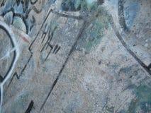 2张街道画油漆 免版税图库摄影