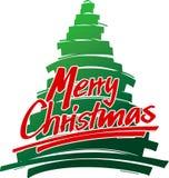 2快活的圣诞节hs 向量例证