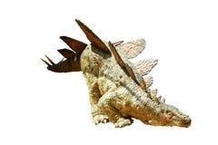 2恐龙 免版税库存照片