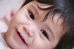 2愉快的男婴 免版税图库摄影