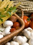 2意大利人意大利面食 免版税库存图片
