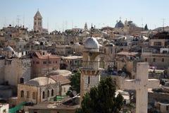 2我的耶路撒冷 免版税库存照片