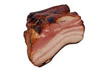2抽烟的胸肉 免版税库存照片