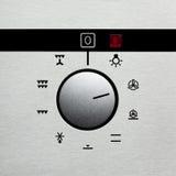 2拨号烤箱 库存照片