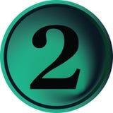 2按钮 免版税库存照片