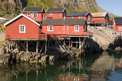 2挪威村庄 图库摄影
