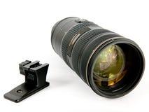 2摄象机镜头缩放 图库摄影