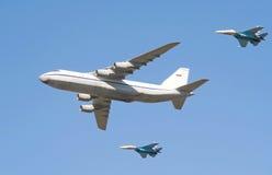 2支空军周年纪念俄语 免版税库存图片