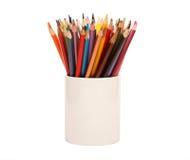 2支颜色铅笔 图库摄影