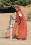 2收集的印度水 库存图片
