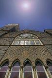 2教会有历史老 库存图片