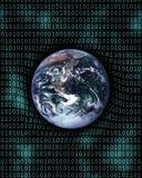 2数字式地球 图库摄影