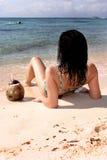 2晒日光浴的墨西哥 库存照片
