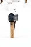 2月2010日风暴 免版税库存图片