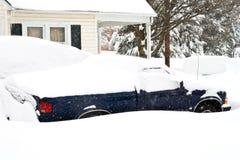 2月2010日风暴 免版税图库摄影