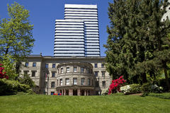 2有历史编译的市政厅 免版税库存图片
