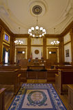 2有历史编译的法庭 库存图片