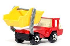 2本地图集汽车老跳过玩具卡车 免版税库存图片