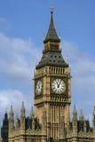 2本大clocktower 库存照片