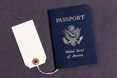 2本护照销售额 库存图片