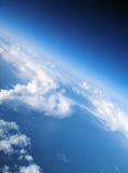 2朵云彩天堂 库存图片