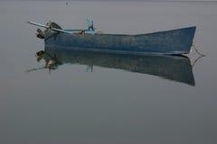 2条小船湖 免版税库存图片