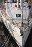 2条小船详细资料游艇 免版税库存图片